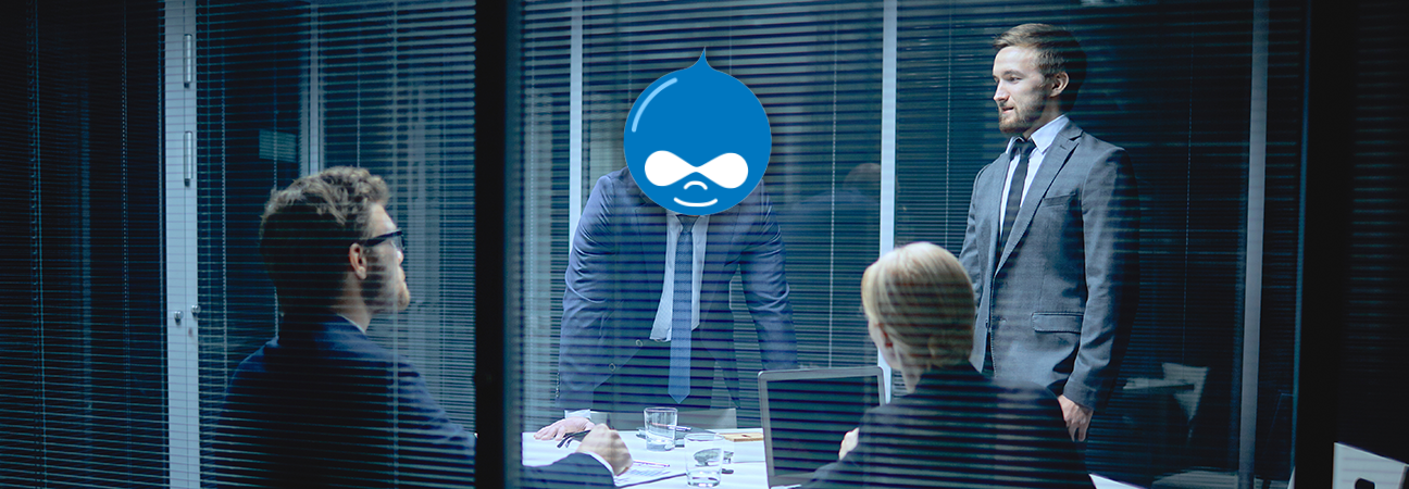 Going all in with Drupal